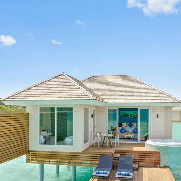 Aqua Villas with Jacuzzi